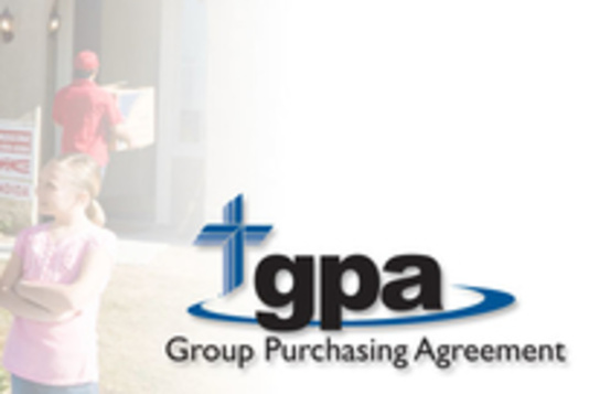 People moving with gpa logo