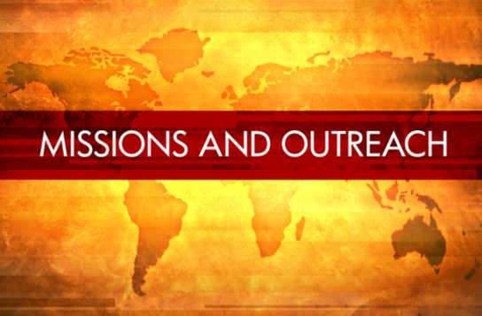 Missions and Outreach Map